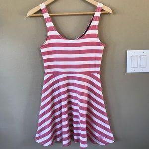 Superdry CandyStripe Skater Tank Stretch Dress S
